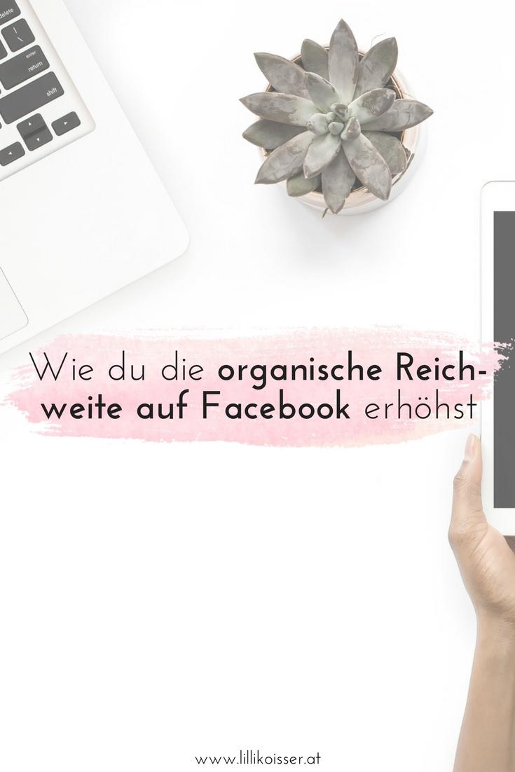 Organische Facebook-Reichweite erhöhen
