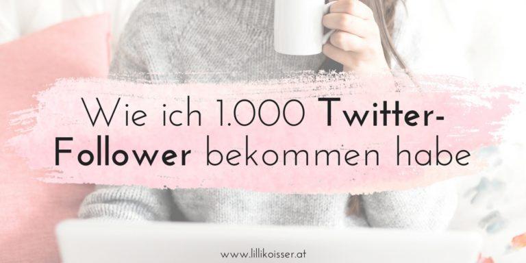 Wie ich 1.000 Twitter-Follower bekommen habe (ohne sie zu kaufen!)