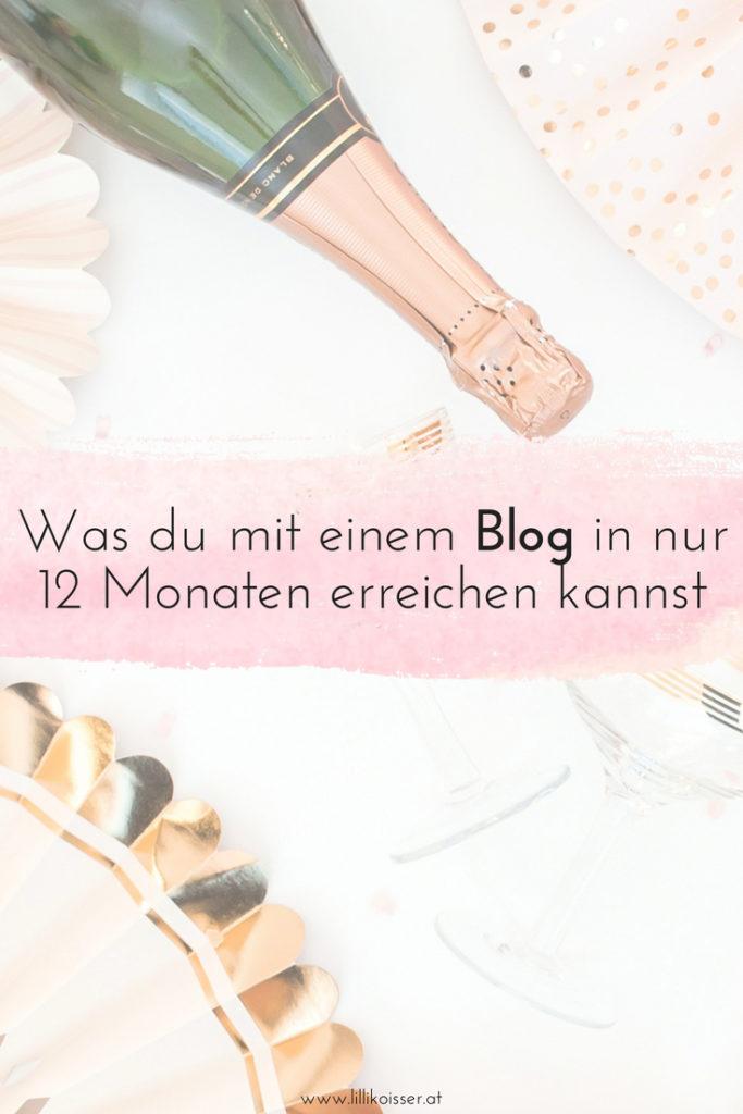 1 Jahr erfolgreich bloggen