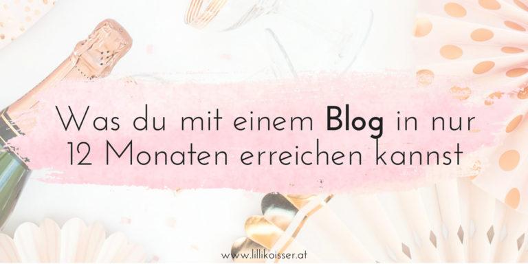 1 Jahr LETTERS: Was du mit einem Blog in 12 Monaten erreichen kannst