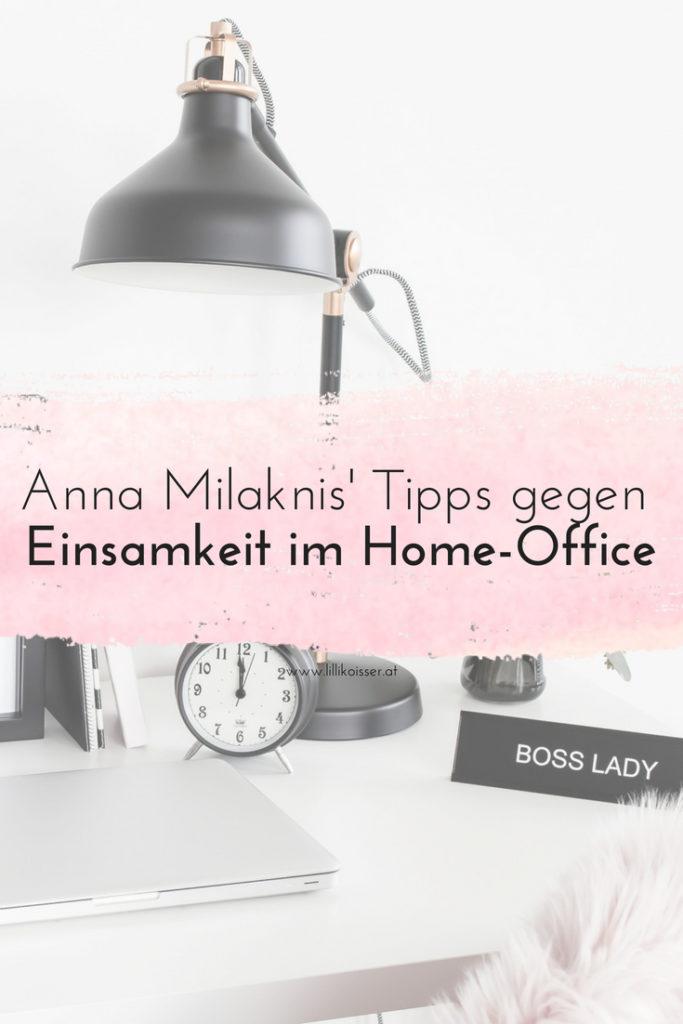 Einsamkeit im Home-Office: Die besten Tipps im Interview mit Anna Milaknis von der Frog List