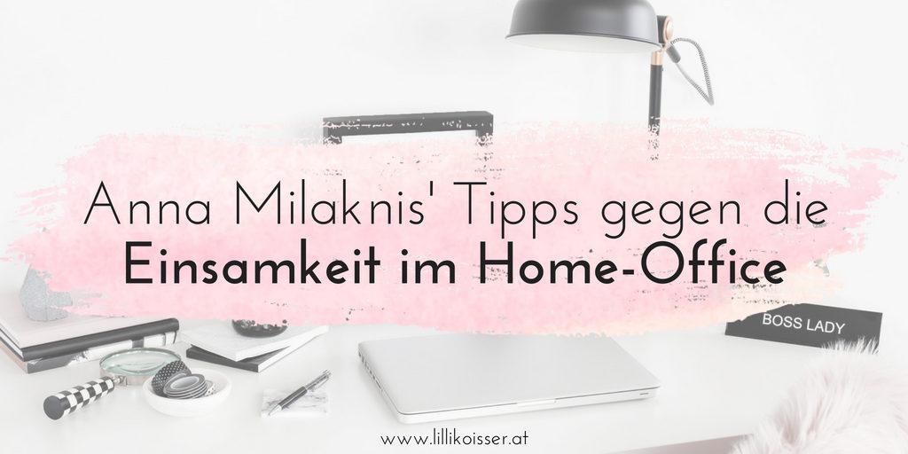 Einsamkeit im Home-Office: Interview mit Anna Milaknis von der Frog List