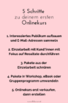 Ersten Onlinekurs erstellen