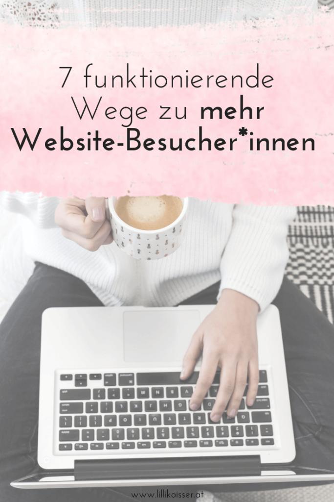 Website-Besucher bekommen