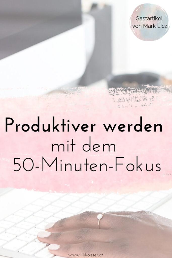 Produktiver werden