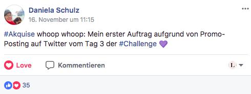 Traumkunden-Challenge Kunde gewonnen
