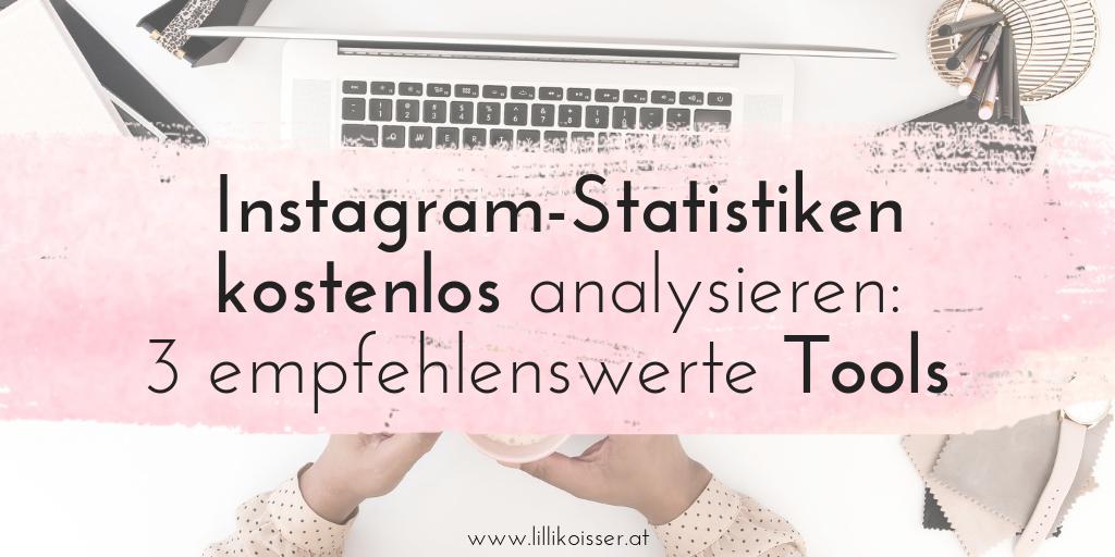 Kostenlose Instagram-Statistiken: 3 Instagram Analytics Tools