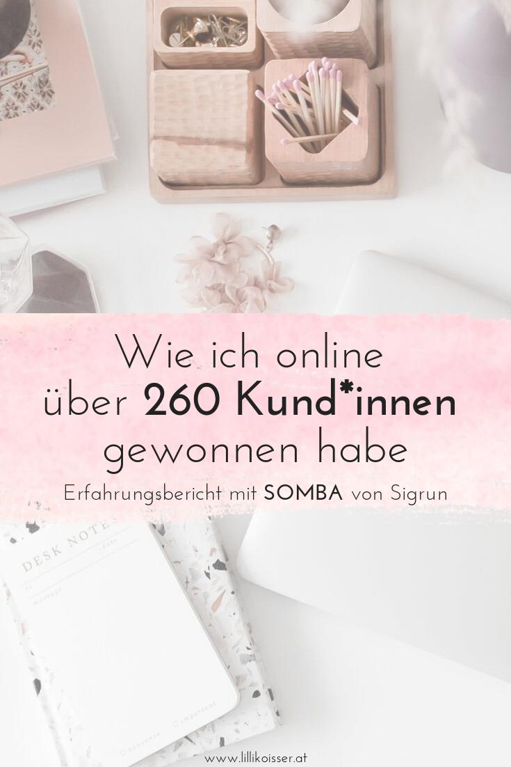 Sigrun SOMBA Online neue Kunden gewinnen