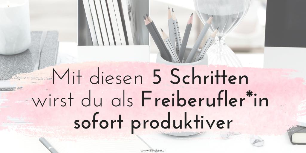 """""""5 einfache Tricks, um als Freiberufler*in sofort produktiver zu werden"""" ist gesperrt 5 einfache Tricks, um als Freiberufler*in sofort produktiver zu werden"""