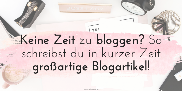 Schneller bloggen: 9 einfache Wege