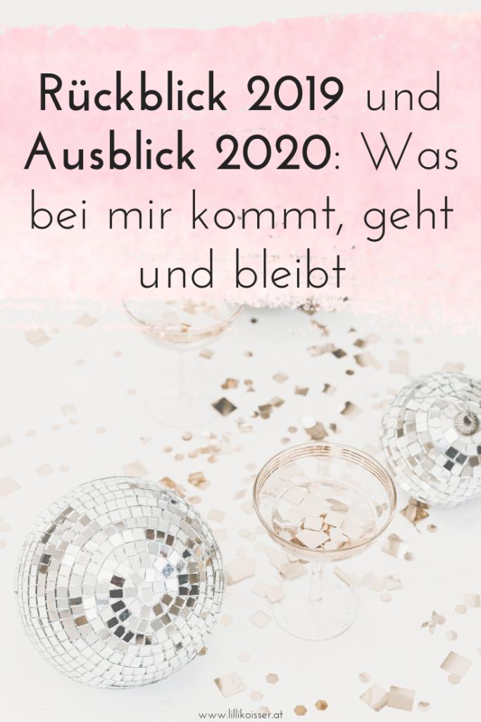 Rückblick 2019 + Ausblick 2020