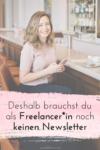 Deshalb brauchst du als Freelancer*in noch keinen Newsletter