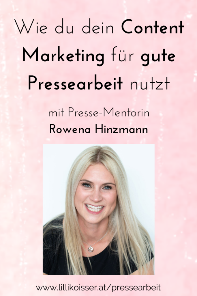 gute Pressearbeit mit Content Marketing