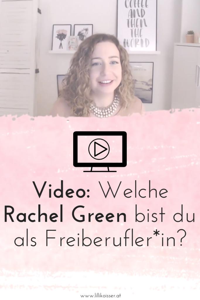 Welche Rachel Green bist du als Freiberufler*in?