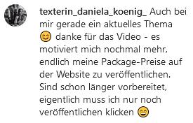 Kommentar Daniela