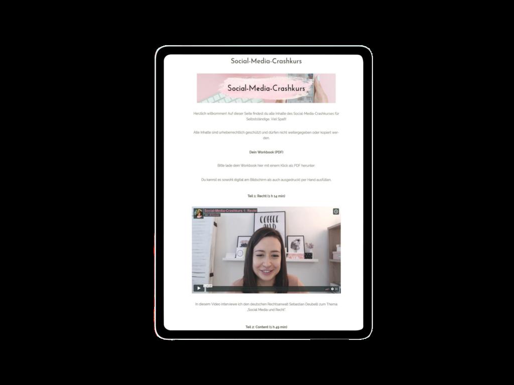 Deine Website als Kundenmagnet: Der Onlinekurs für Selbstständige