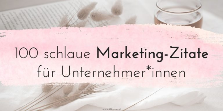 100 schlaue Marketing-Zitate