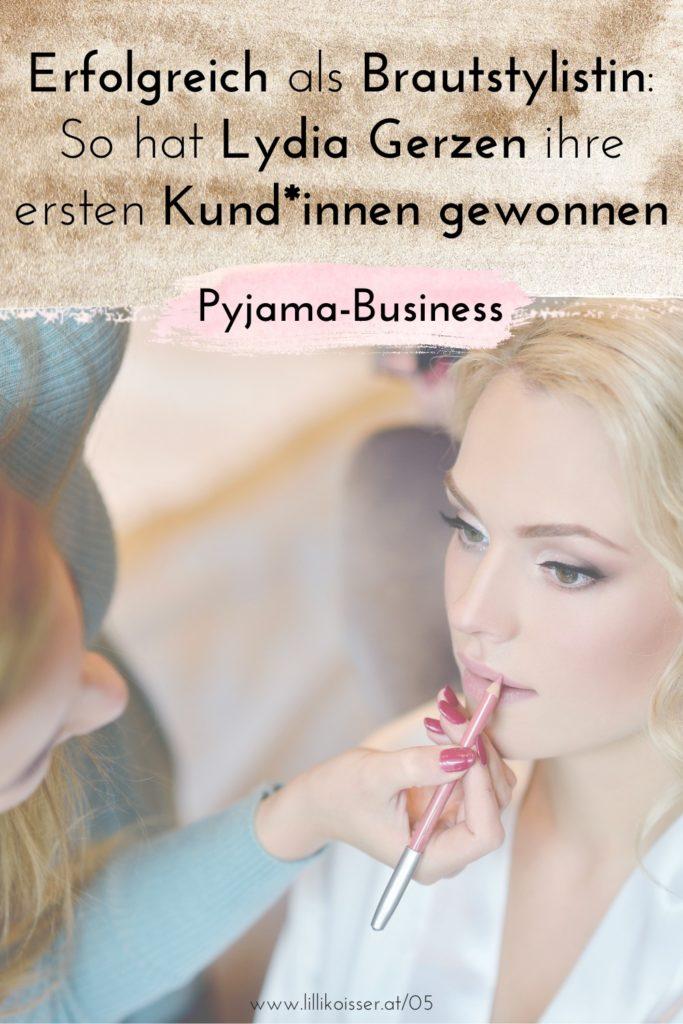 Pyjama-Business Podcast Folge 5: Erfolgreich als Brautstylistin