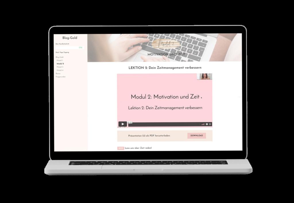 Blog-Gold Kurs von Lilli Koisser