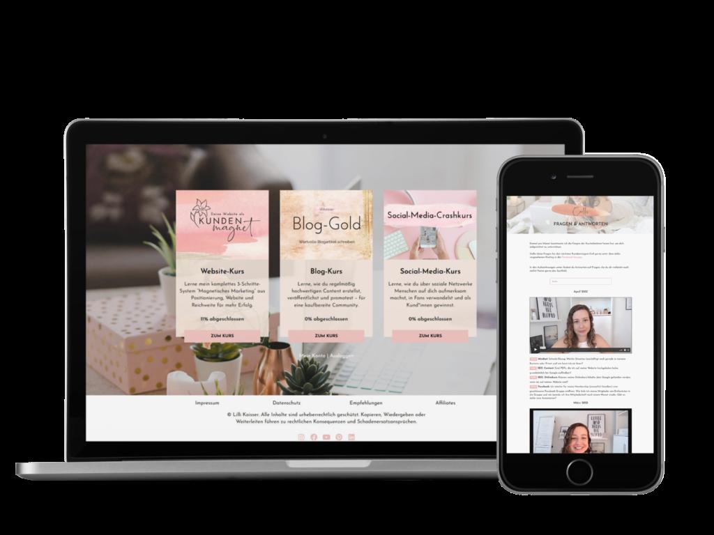 Online gefunden werden mit dem Kundenmagnet-Kurs von Lilli Koisser