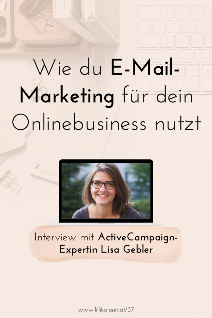 Pyjama-Business Podcast Folge 37: Cleveres und ethisches E-Mail-Marketing mit ActiveCampaign - Lisa Gebler im Interviewcast Folge 37: Cleveres und ethisches E-Mail-Marketing mit ActiveCampaign - Lisa Gebler im Interview